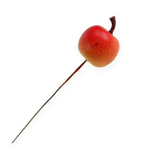 Künstliche Apfel 3cm am Draht 24St