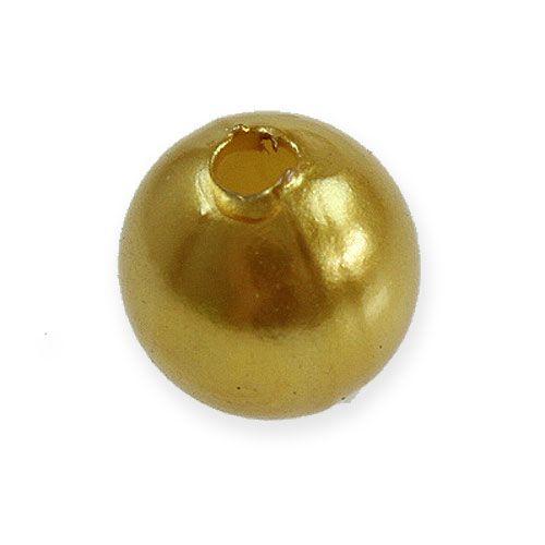 Deko-Perlen Ø10mm Gold 115St