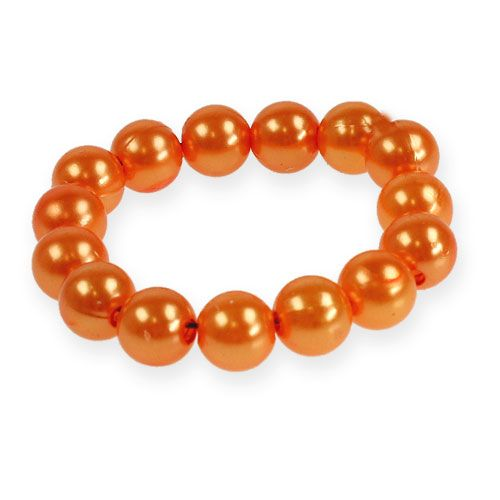 Deko-Perlen Ø10mm Orange 115St