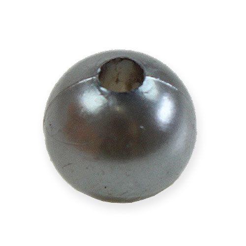 Deko-Perlen Ø10mm Silber 115St