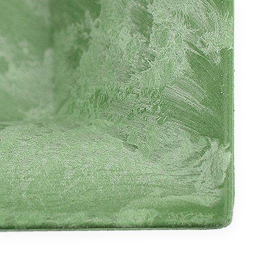 plastikteller gr n eckig 19 5cm x 19 5cm preiswert online kaufen. Black Bedroom Furniture Sets. Home Design Ideas