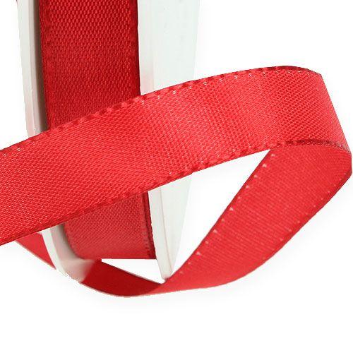 Geschenk- und Dekorationsband Rot 15mm 50m