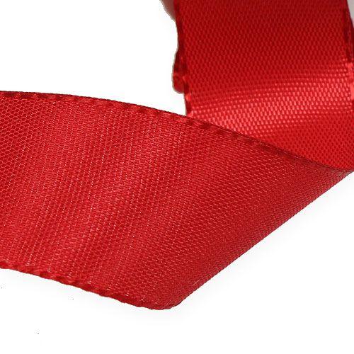 Geschenk- und Dekorationsband Rot 40mm 50m