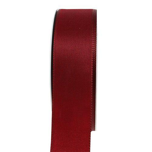 Dekorationsband Bordeaux 40mm 50m