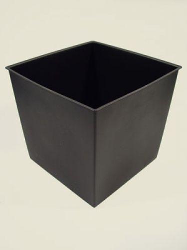 Pflanzeneinsatz, 12 l 25cm x 25cm schwarz