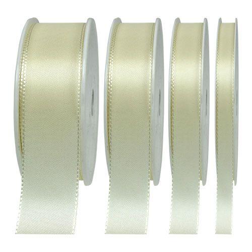 Geschenk- und Dekorationsband Creme 50m