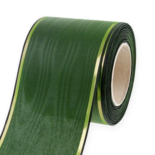 Kranzband Dunkelgrün 75mm 25m