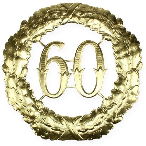Jubil Umszahl 60 In Gold 40cm Preiswert Online Kaufen