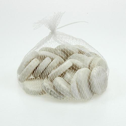 deko steine flach wei 5cm 1kg preiswert online kaufen. Black Bedroom Furniture Sets. Home Design Ideas