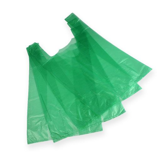 Hemdchenbeutel Grün 30cm x 18cm x 55cm 100St.