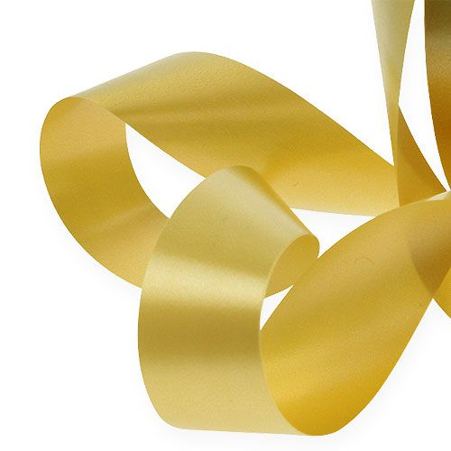 Kräuselband 30mm 100m Gold