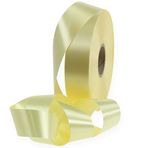 Kräuselband 30mm 100m Gelb Hell