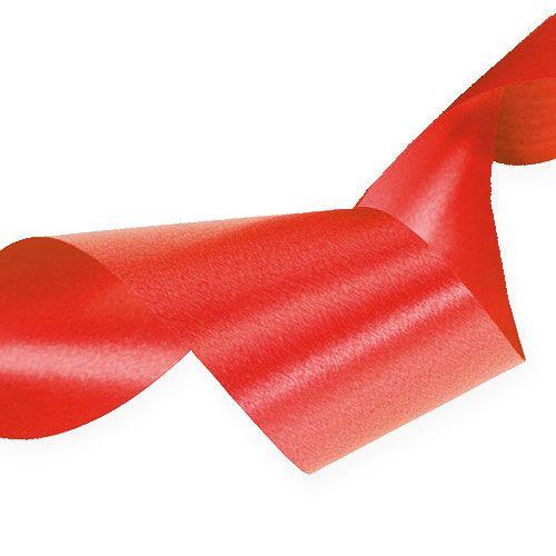 Kräuselband 30mm 100m Rot