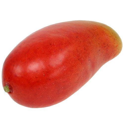 Künstliche Mango Rot, Gelb 15cm