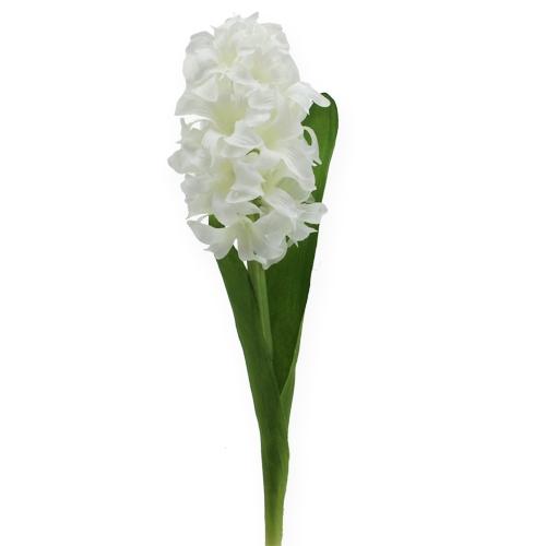 seidenblumen hyazinthe wei 33cm preiswert online kaufen. Black Bedroom Furniture Sets. Home Design Ideas