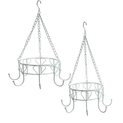metall ring set zum h ngen 40cm 29cm preiswert online kaufen. Black Bedroom Furniture Sets. Home Design Ideas