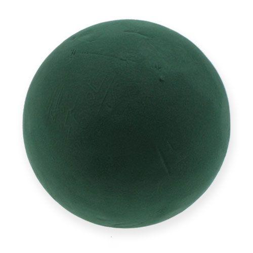 Steckschaum Kugel groß Grün Ø25cm