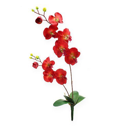 Deko Orchidee Rot 68cm