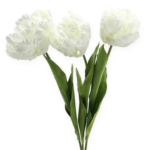 Deko Tulpen Weiss 73cm 3st Preiswert Online Kaufen