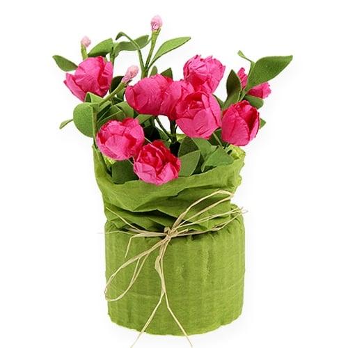 Miniroschen Tischdeko Pink 16cm Preiswert Online Kaufen