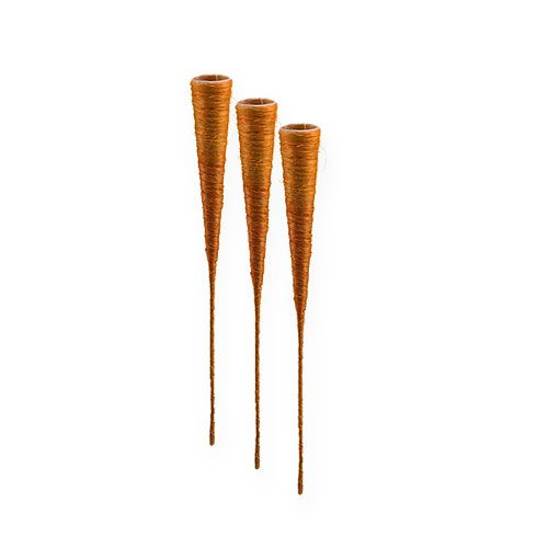 Sisalvase Orange Ø3cm L30cm 12St