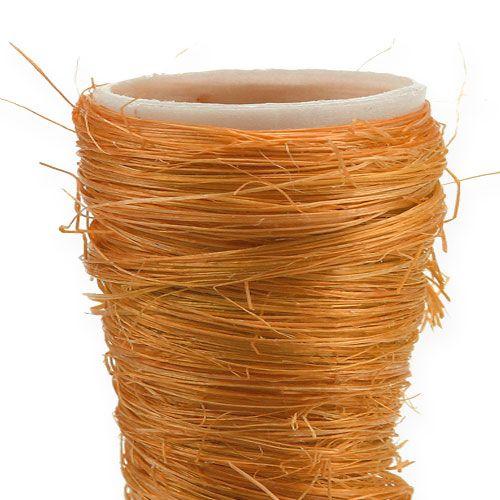 Spitzvase Sisal Orange Ø4,5cm L60cm 5St