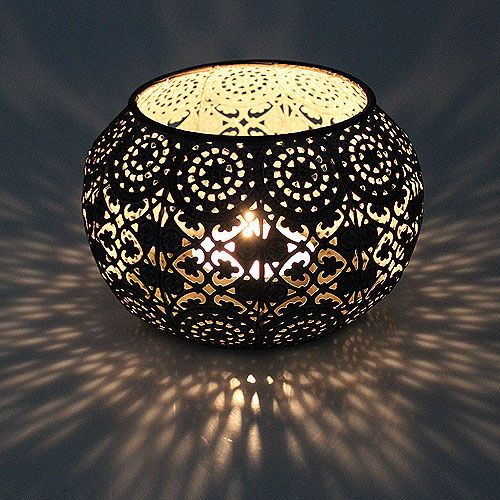 windlicht silber orientalisch 12cm h9cm preiswert online kaufen. Black Bedroom Furniture Sets. Home Design Ideas