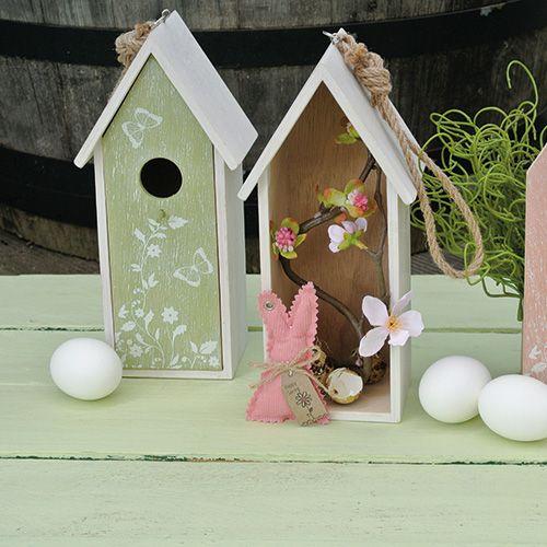 vogelhaus gr n zum h ngen 25cm x 9cm preiswert online kaufen. Black Bedroom Furniture Sets. Home Design Ideas