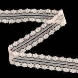 Spitzenband Deko Band Rosa 20m 3cm Geschenke verpacken