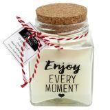 Duftwachs im Glas Enjoy Every Moment
