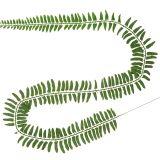 Farnblatt Grün 130cm 3St