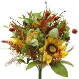 Blumenstrauß Herbst Sonnenblume Ø30cm