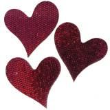 Streudeko Herz Lila 3-5cm  48St