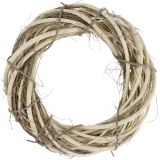 Kranz aus Weide und Ästen Natur Ø39cm