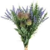 Kräuterbund Lavendel, Rosmarin, Distel 40cm