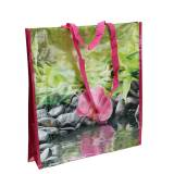 Einkaufstasche mit Henkeln Happiness Kunststoff 38×10×40cm