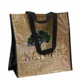Einkaufstasche mit Henkeln Nature Kunststoff 40×20×40cm
