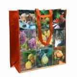 Einkaufstasche mit Henkeln Picknick Kunststoff 45×20×44cm