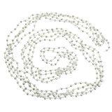 Perlenkette, Christbaumkette Hellgrün 7m