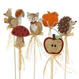 Pflanzenstecker Herbstsortiment 12St