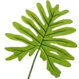 Philodendronblatt Grün 40cm