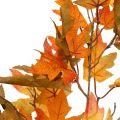 Künstlicher Ahornzweig Orange 90cm