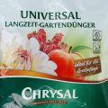 Chrysal Universal Langzeit-Gartendünger 500g