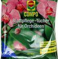 Compo Blattpflegetücher für Orchideen 10St