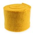 Filzband 15cm x 5m Gelb