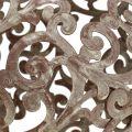 Gartendeko, Metallkugel Rost Ø14cm