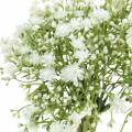 Gypsophila Schleierkraut künstlich im Bund Weiß H28cm 6St