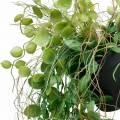 Hängepflanze im Topf Künstliche Grünpflanze Pflanzenampel