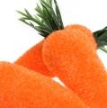 Deko-Karotte 6cm beflockt 24St
