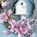 Magnolienzweig Violett 110cm 1St